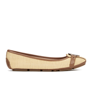 MICHAEL MICHAEL KORS Women's Fulton Straw Pumps - Natural