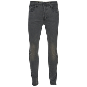 Brave Soul Men's Warren Skinny Jeans - Charcoal