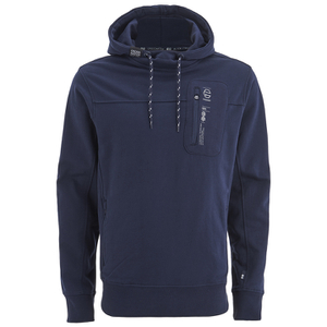 Crosshatch Men's Chalker Hoody - Iris Navy