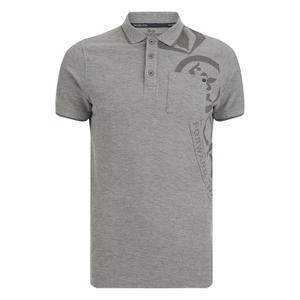 Crosshatch Men's Pacific Polo Shirt - Grey Marl