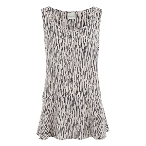 Selected Femme Women's Isola Silk Top - Silver Peony