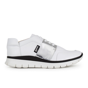 Jil Sander Navy Women's Running Trainers - White