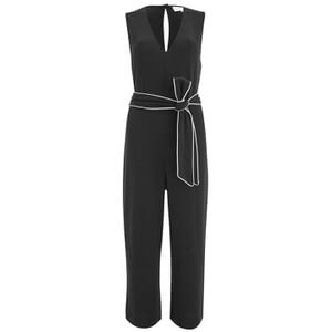 Ganni Women's Clark Jumpsuit - Black
