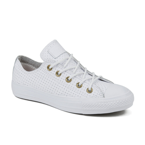 Converse Womens White Leather