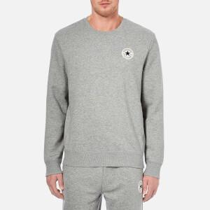Converse Men's Crew Neck Sweatshirt - Vintage Grey Heather