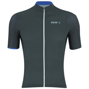 Primal Blu Steel Helix Short Sleeve Jersey - Black