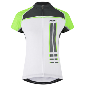 Primal Frequency Evo Women's Short Sleeve Jersey - White