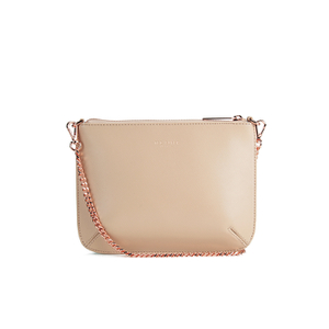Ted Baker Women's Nara Crosshatch Leather Crossbody Bag - Taupe