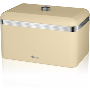 Swan SWKA1010CN Retro Bread Bin - Cream
