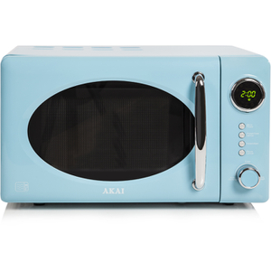 Akai A24006BL Digital Microwave - Blue - 700W