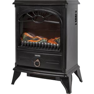 Warmlite WL46014BL/MOB Stove Fire - Black - 2000W