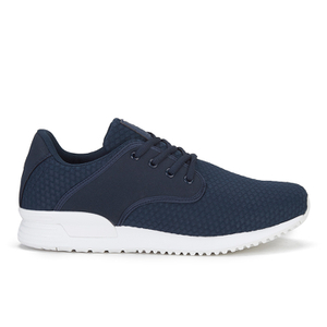 Crosshatch Men's Wallrun Trainers - Iris Navy