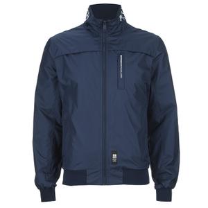 Crosshatch Men's Brimon Windbreaker Jacket - Iris Navy