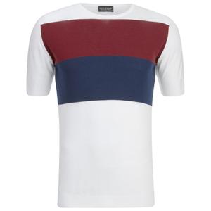 John Smedley Men's Rall Sea Island Cotton T-Shirt - White