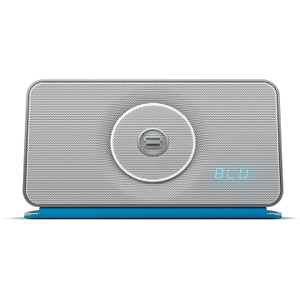 Bayan Audio Soundbook X3 Portable Wireless Bluetooth and NFC Speaker & Radio - White