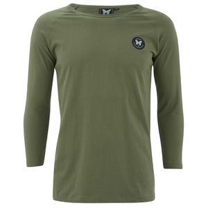 Good For Nothing Men's Lineola 3/4 Sleeve Top - Khaki