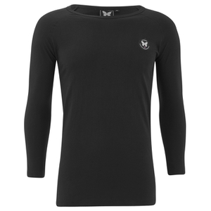 Good For Nothing Men's Lineola 3/4 Sleeve Top - Black