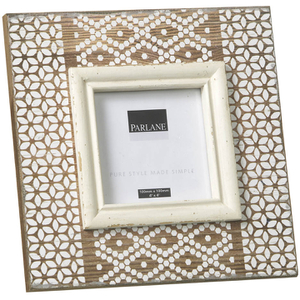 Parlane Zulu Wooden Photo Frame - Brown (215mm x 215mm)