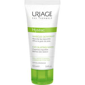 Uriage Hyséac 2-in-1 Exfoliating Mask (100ml)