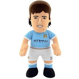 Manchester City FC David Silva 10 Inch Bleacher Creature