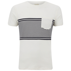 Selected Homme Men's Liam T-Shirt - Marshmallow