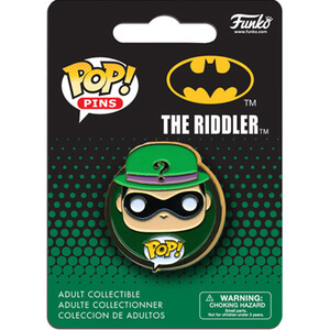 DC Comics Batman Riddler Pop! Pin Badge