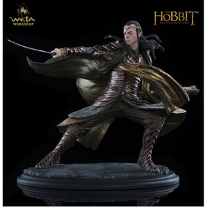 Weta Collectables The Hobbit The Battle of The Five Armies Statue Lord Elrond At Dol Guldur 4 Inch Statue