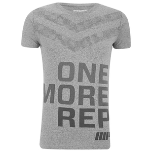 Myprotein Men's Performance Slogan T-Shirt - Grey