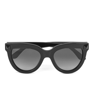 Valentino Women's Rockstud Cateye Frame Sunglasses - Black