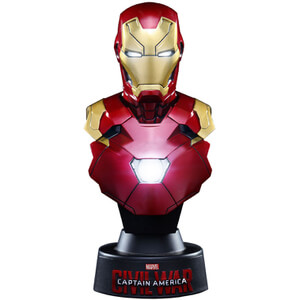 Hot Toys Marvel Captain America Civil War Iron Man Mark XLVI 4 Inch Bust