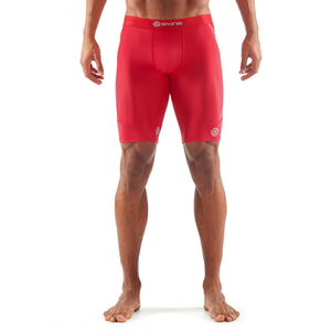 Skins DNAmic Men's Half Tights - Red