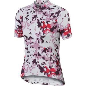 Sportful Game Children's Short Sleeve Jersey - White/Pink