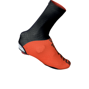 Sportful Lycra Shoe Covers - Black/Red