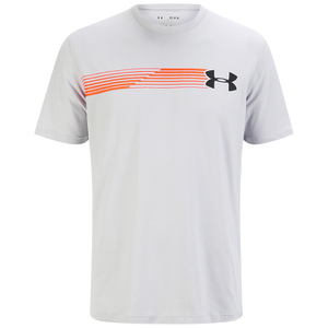 Under Armour Men's Fast Logo T-Shirt - Grey