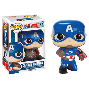 Captain America Civil War Action Pose Cap Pop! Vinyl Figure