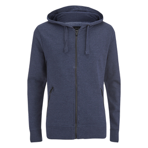 Smith & Jones Men's Palazzo Zip Through Hoody - Navy Blazer Marl