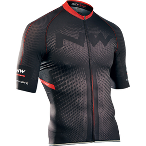 Northwave Extreme Full Zip Short Sleeve Jersey - Black