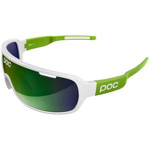 POC DO Blade Raceday Sunglasses - Hydrogen White/Cannon Green