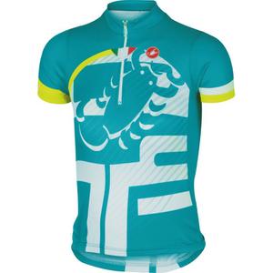 Castelli Children's Veleno Short Sleeve Jersey - Blue