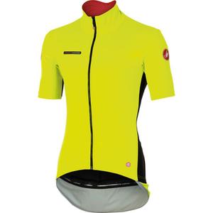 Castelli Perfetto Light Short Sleeve Jersey - Yellow