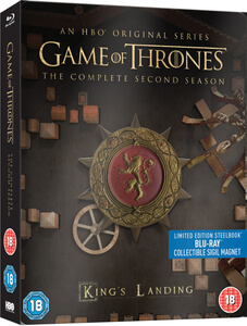 Game Of Thrones - Complete Second Season Limited Edition Steelbook