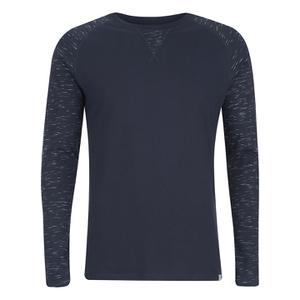 Jack & Jones Men's Core Inc Long Sleeve T-Shirt - Navy Blazer