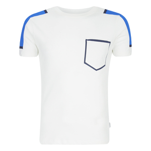 Jack & Jones Men's Core Block T-Shirt - White