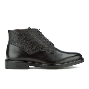 PS by Paul Smith Men's Munari Leather Lace Up Boots - Black