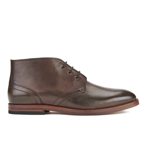 H Shoes by Hudson Men's Houghton II Leather Desert Boots - Brown