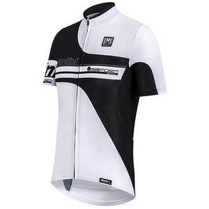 Santini Air Form Short Sleeve Jersey - White