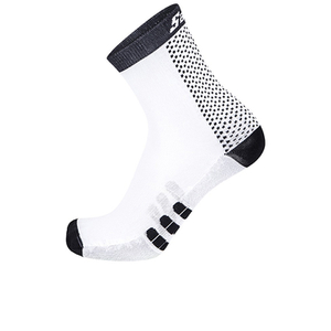 Santini Two Medium Profile Socks - Black