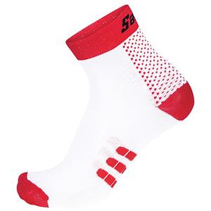 Santini One Low Profile Socks - Red