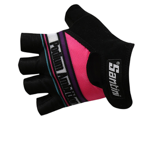Santini Podium Ambition 16 Women's Race Gloves - Pink