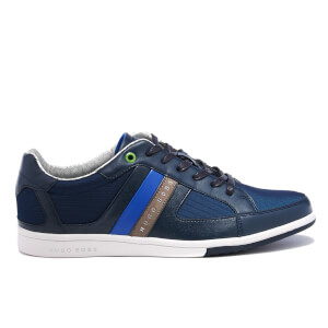 BOSS Green Men's Metro Trainers - Dark Blue